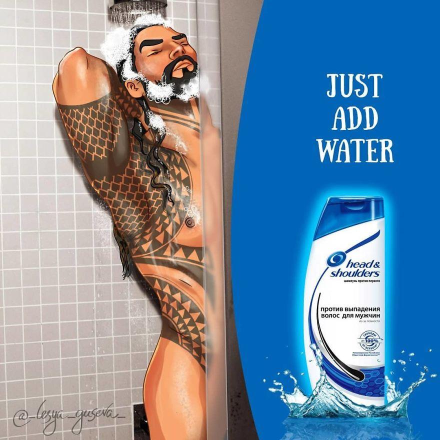Aquaman - Shampoo