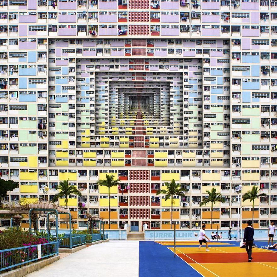 No Matter How Colorful They Are, After Subdivided Flats Into Rooms, They Are Just Tiny Dark Cubicles That People Call Home