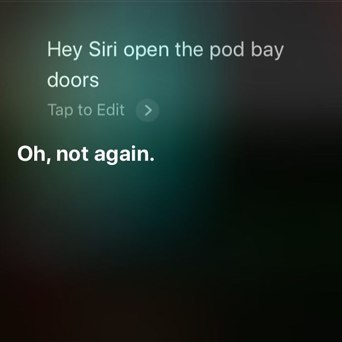Yes, Again, Siri