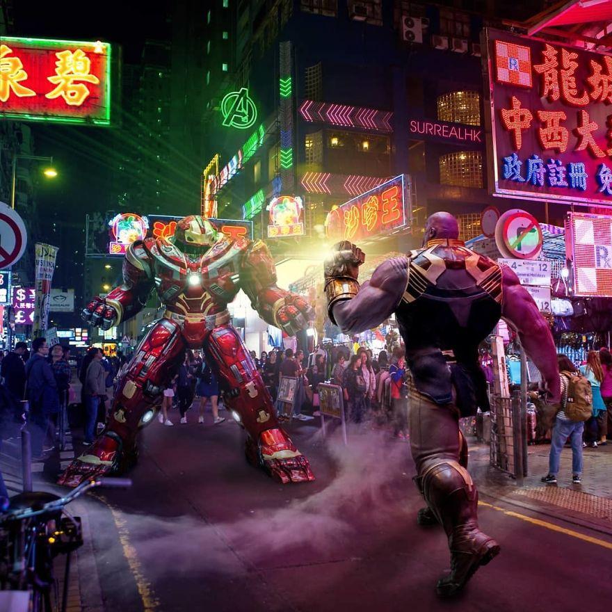 Bargain At Mongkok's Ladies Market Is... Infinity War!