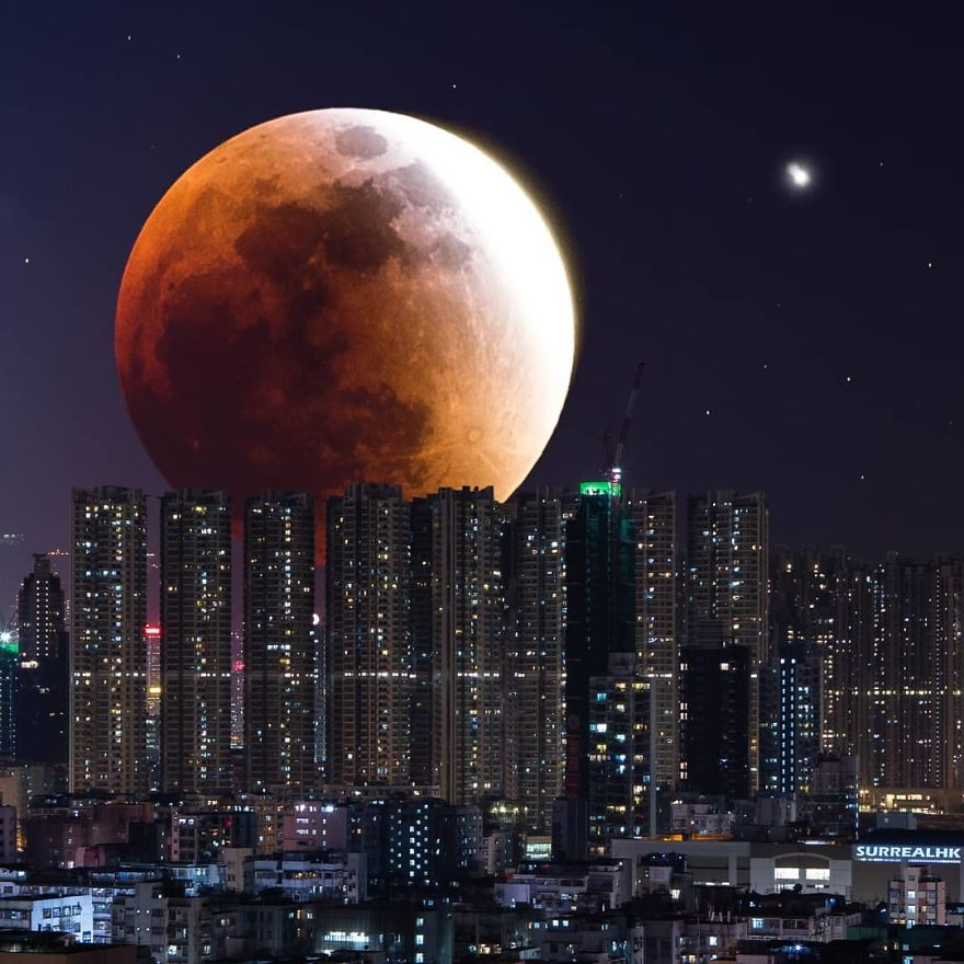 The Biggest Bloody Moon Ever!