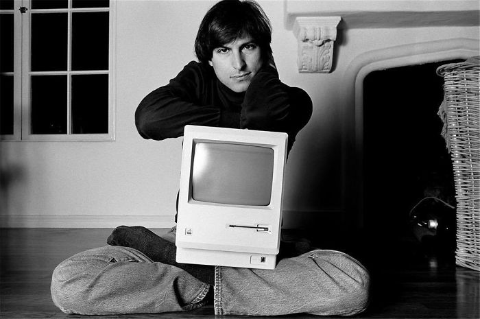 Steve Jobs, Woodside, CA, 1984