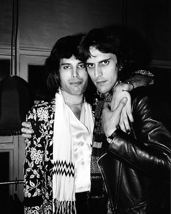 Freddie Mercury & Mick Rock