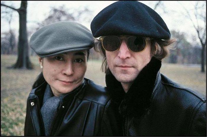 John Lennon And Yoko Ono, Central Park, NYC, 1980