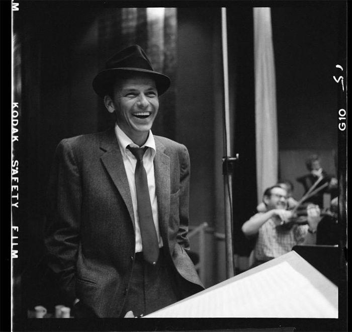 Frank Sinatra, Capitol Records, Hollywood, CA, 1956