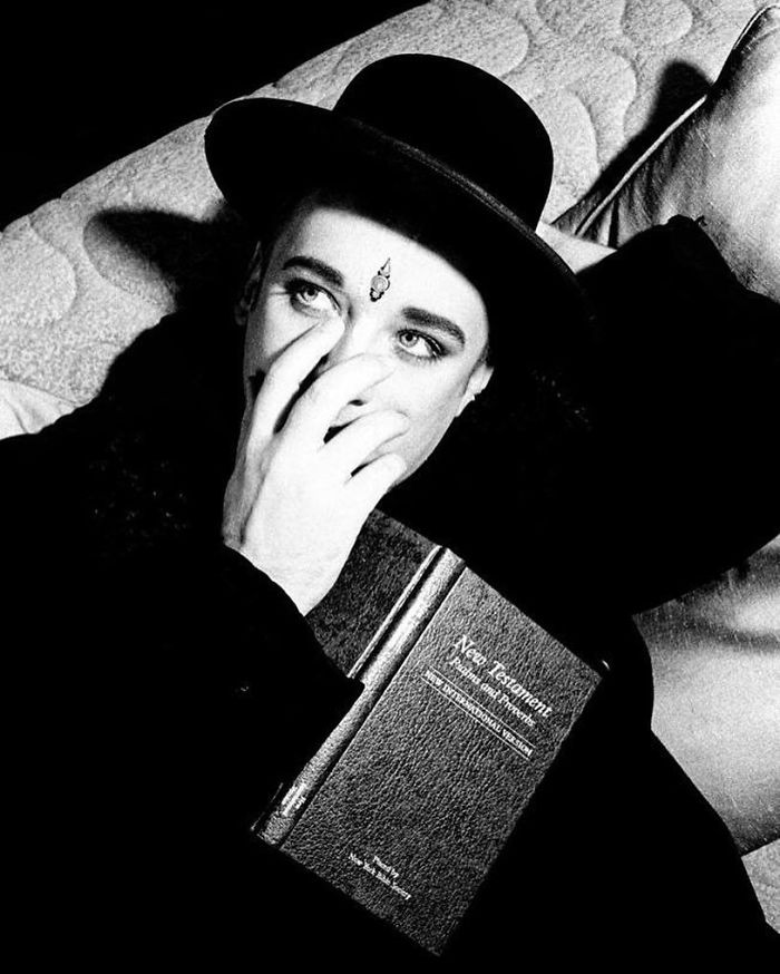 Boy George, New York City, 1993