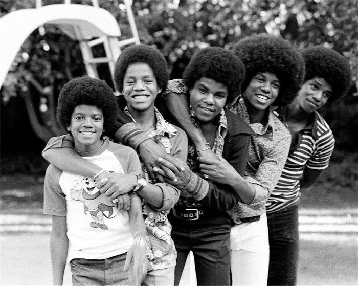 The Jackson 5, Encino, CA, 1974