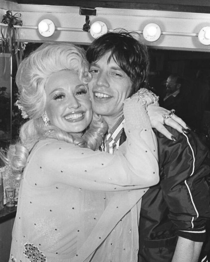Dolly Parton And Mick Jagger, Bottom Line Concert, May, 1977