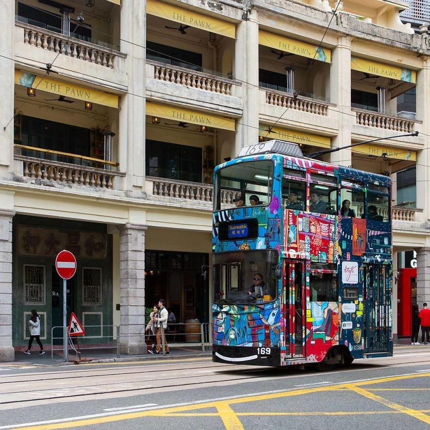 Isn't It The Cutest Tram Ever?