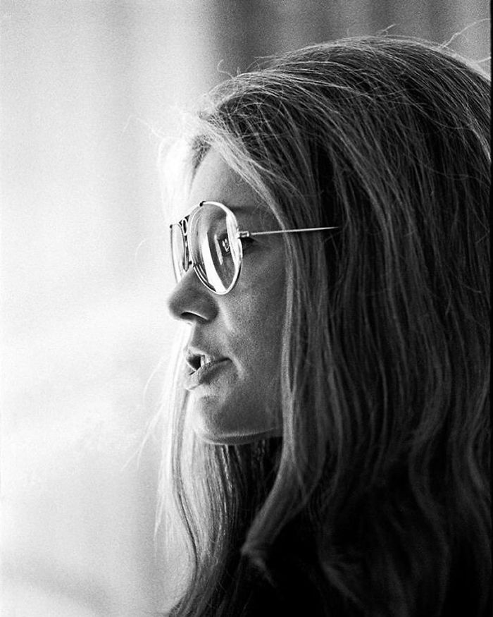 Gloria Steinem, Palm Beach, FL, 1971