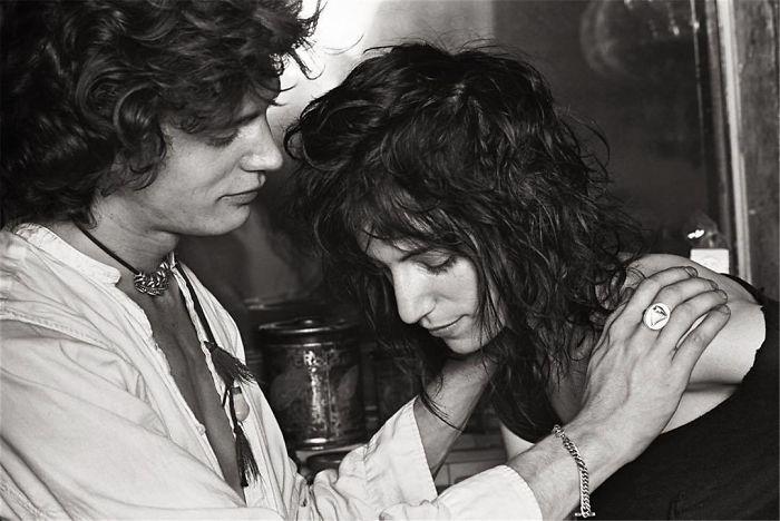 Robert Mapplethorpe And Patti Smith, New York City, 1969