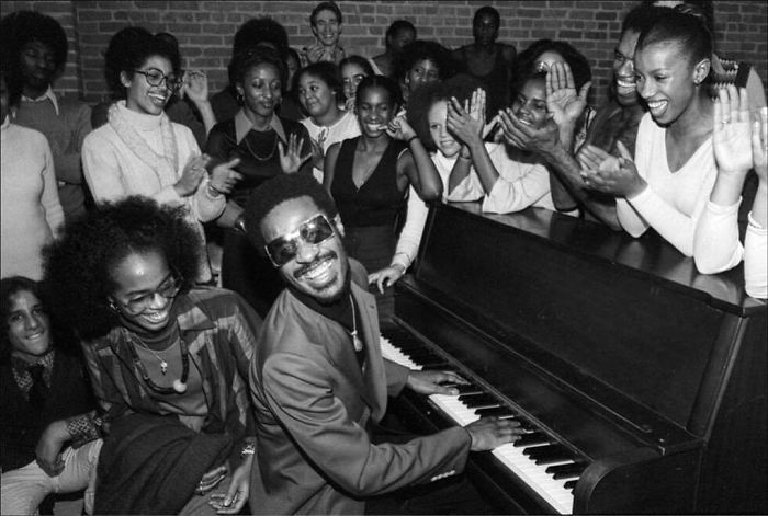 Stevie Wonder, Dance Theater Of Harlem, NYC, 1976