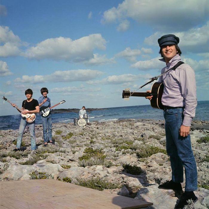 The Beatles, Filming 'Help!' Bahamas, 1965