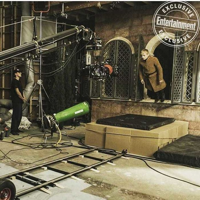 King Tommen Falling Out Of The Window Behind The Scenes