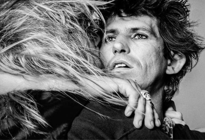 Keith Richards And Patti Hansen, New York, 1981