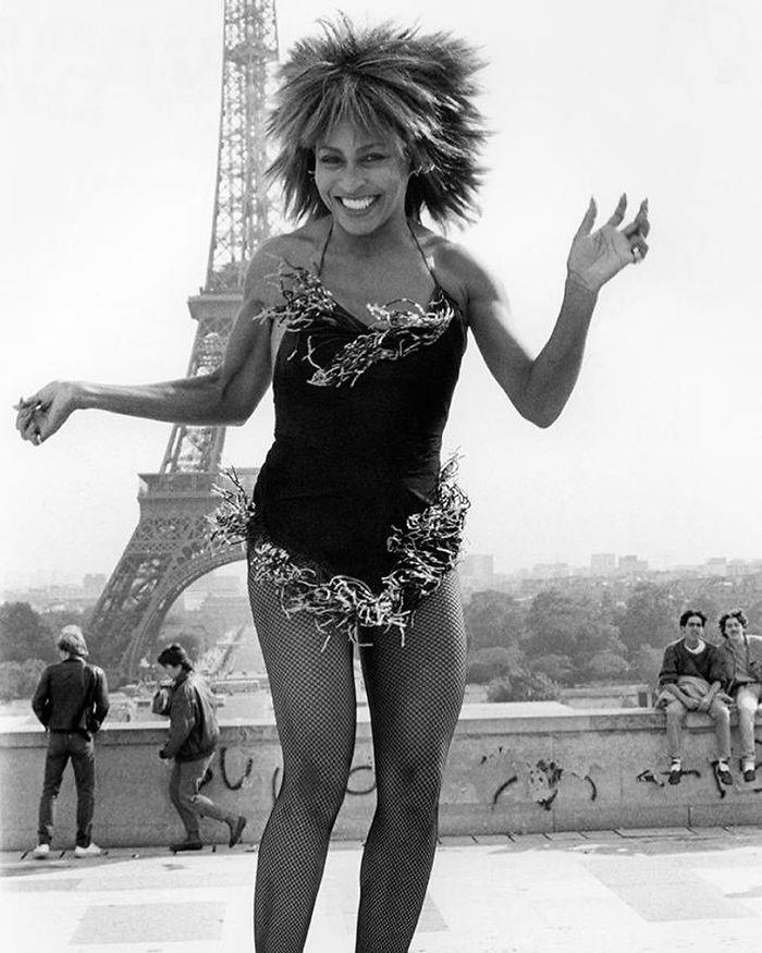 Tina Turner, Paris, 1984