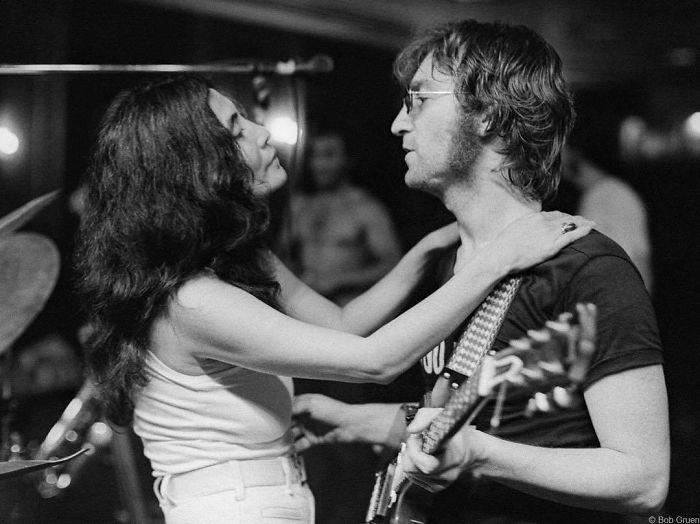 Yoko Ono And John Lennon, Butterfly Studios, NYC, 1972