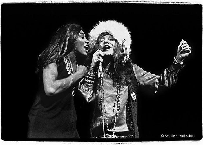 Janis Joplin And Tina Turner At Madison Square Garden, November 27, 1969