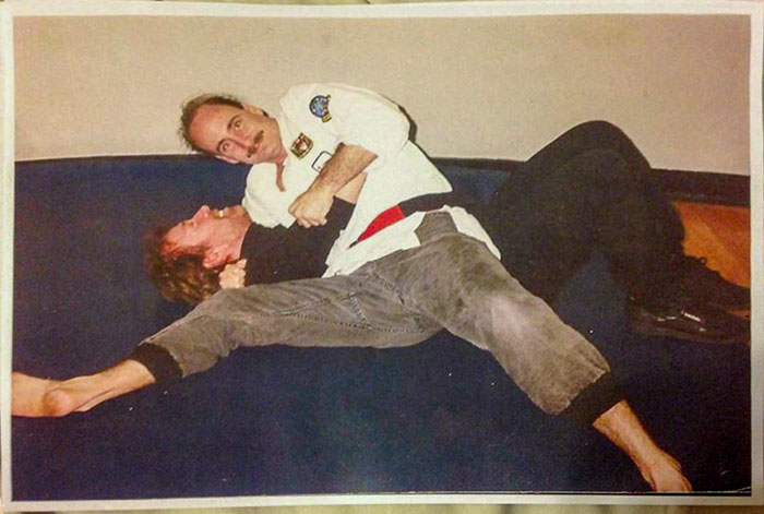 Chuck Norris Pinned By My Dad