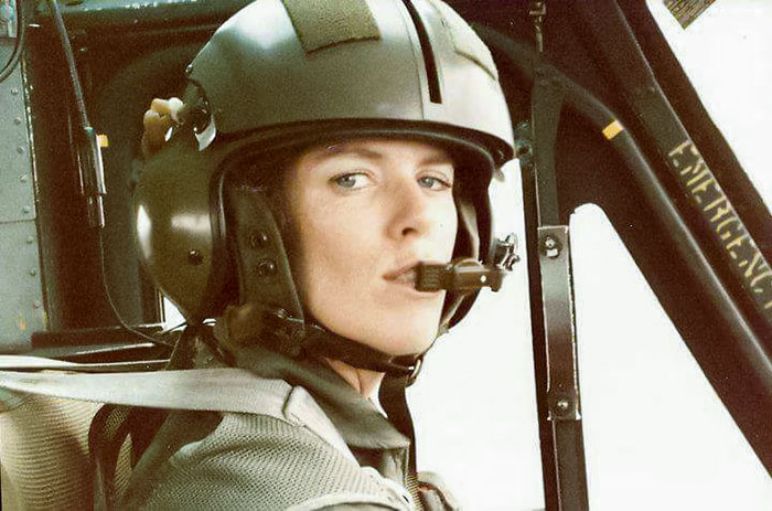 My Mom Flew Helicopters For The Army In The 80s