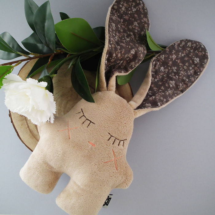 This Bunny Plush Toy Is Called Nooz