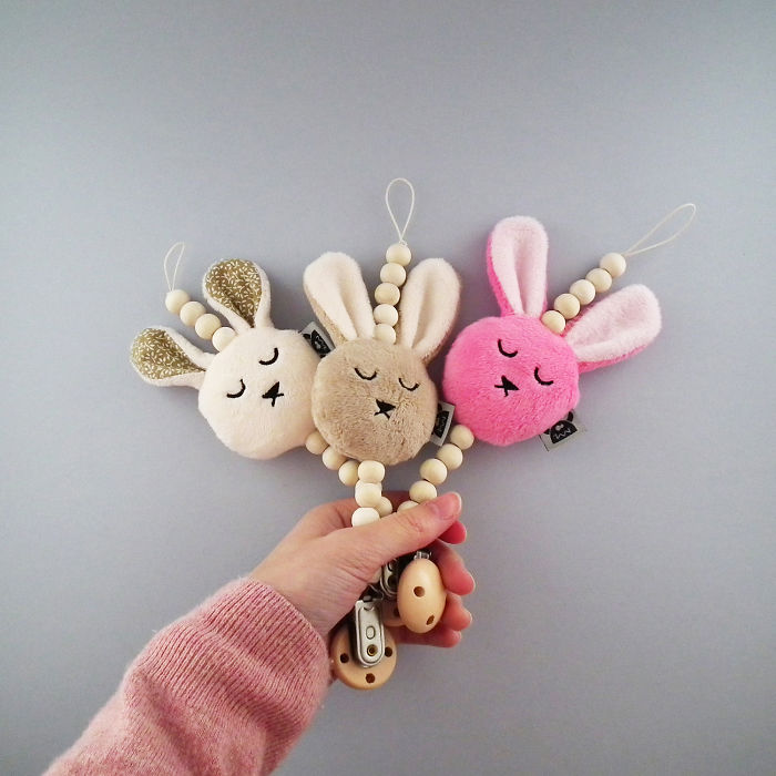 Soft Pacifier Holders