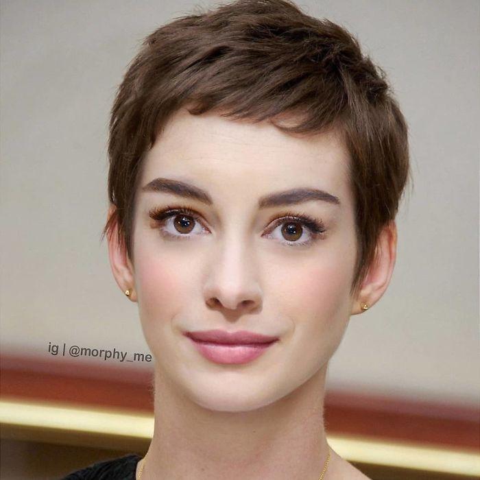 Anne Hathaway & Audrey Hepburn