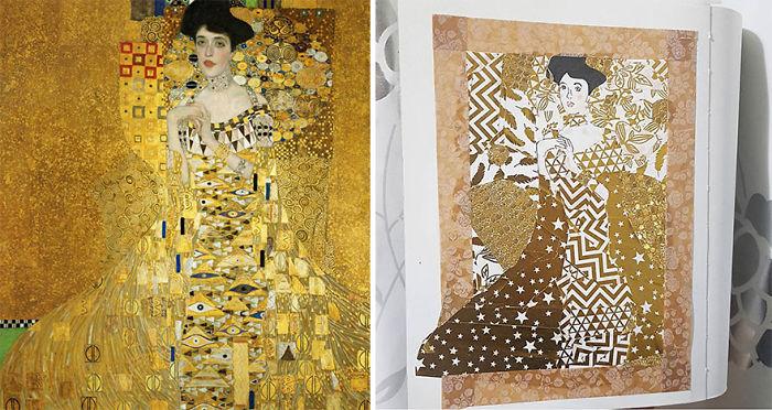 Portrait Of Adele Bloch-Bauer I – Gustav Klimt