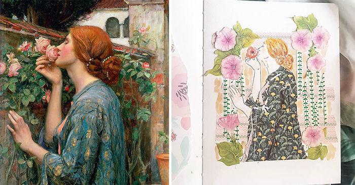 The Soul Of The Rose – John William Waterhouse