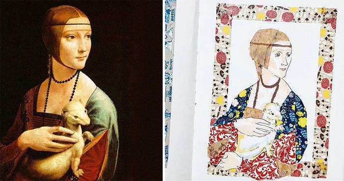 Lady With An Ermine – Leonardo Da Vinci