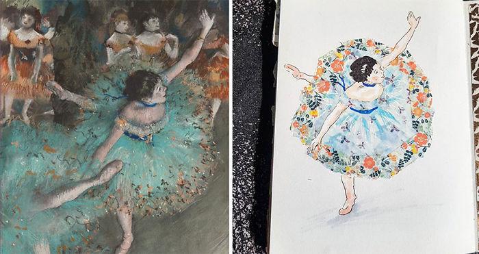 The Green Dancer – Edgar Degas
