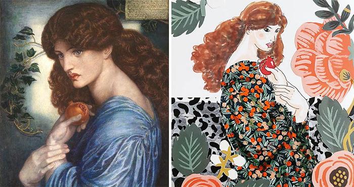 Proserpine – Dante Gabriel Rossetti