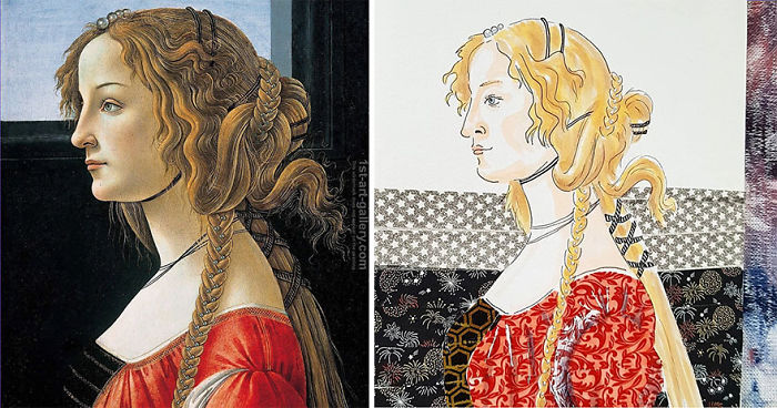 Portrait Of A Young Woman – Sandro Botticelli