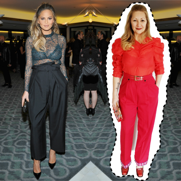 Chrissy Teigen. Outfit Cost: $4