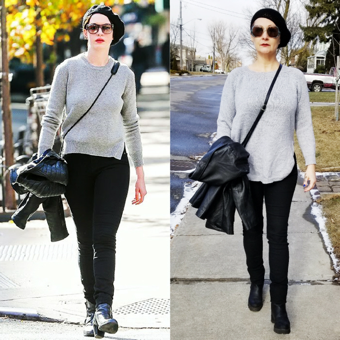 Anne Hathaway. Outfit Cost: $4