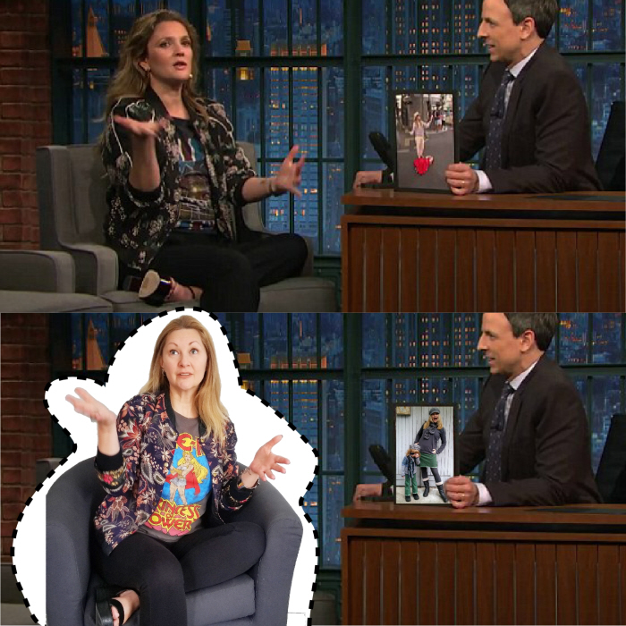 Drew Barrymore. Outfit Cost: $2