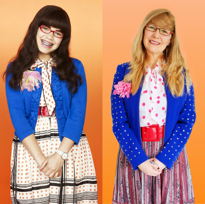 Ugly Betty. Outfit Cost: $5