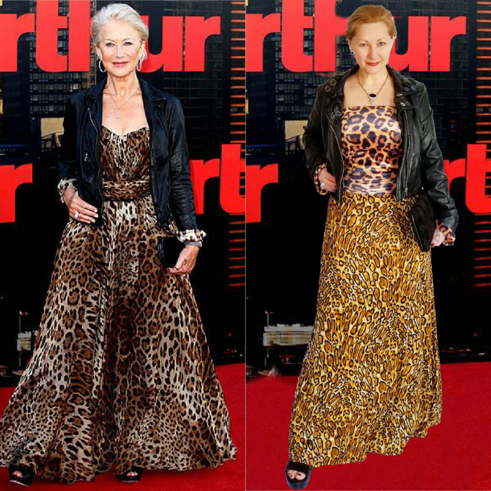 Helen Mirren. Outfit Cost: $7