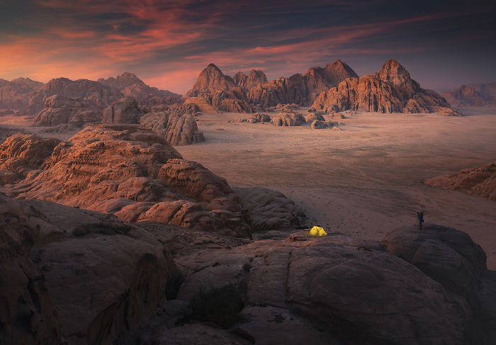 For Five Days I Photographed Landscapes On Earth's Mars