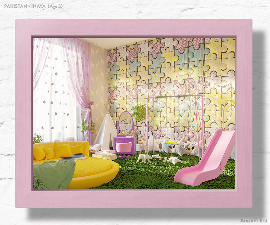 7 Kids Were Asked To Draw Bedrooms Of Their Dreams, And Here's What They'd Look Like In Real Life