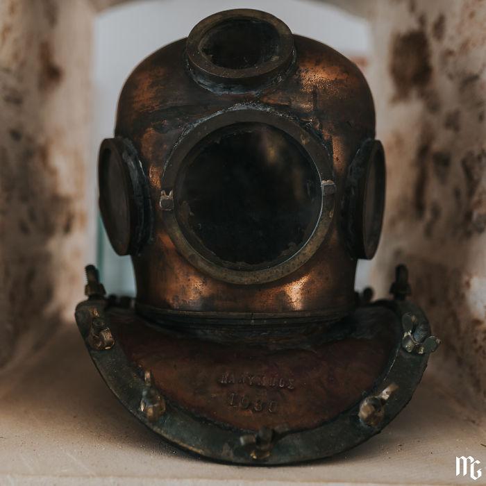 Antique Diving Helmet From 30s