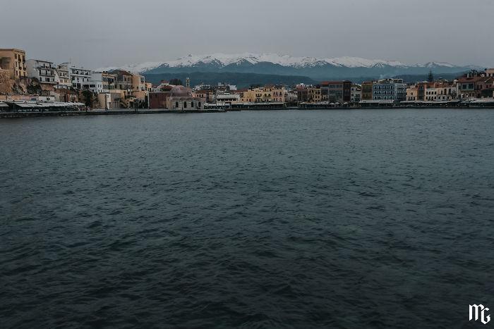 The Last Glance At The Beautiful Crete!