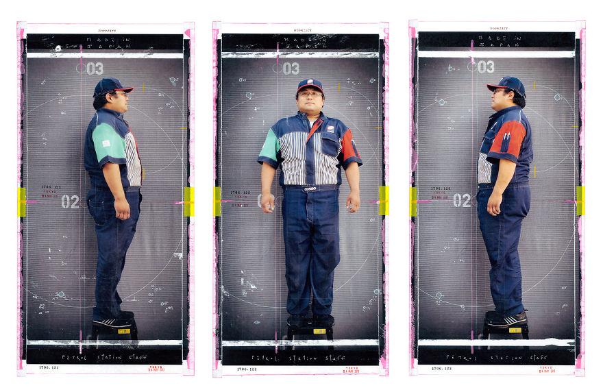 A Petrol Station Staff