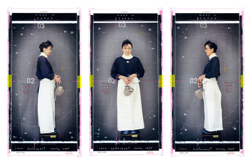 An Udon Restaurant Owner Chef