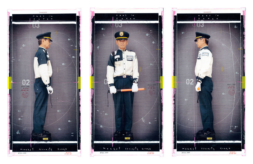 A Market Security Guard