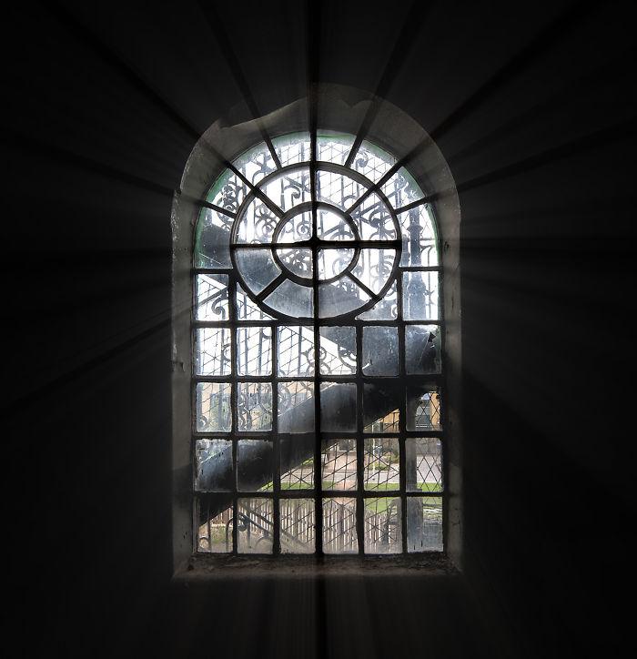 Ventilation Window Installed In 1831