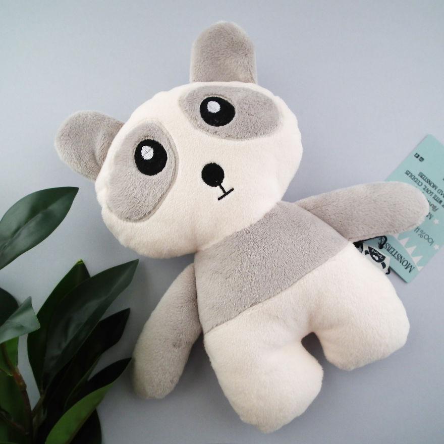 Panda Kawaii Stuffed Toy