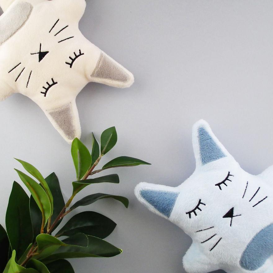 Two Little Cat Lovers