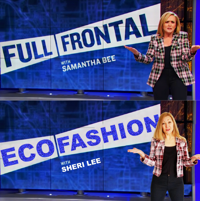 Samantha Bee. Outfit Cost: $1