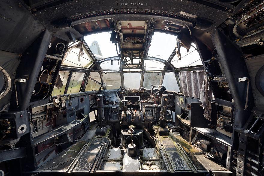 Former War Machines On Forgotten Land